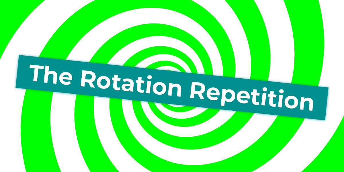 Implementing the Flywheel Step 6. The Rotation Repetition
