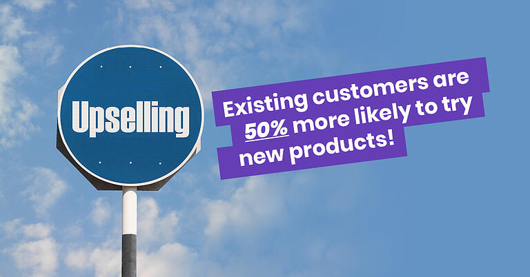 Existing customers are 50% more likely to try new products!
